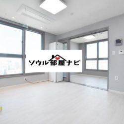 【新設洞(シンソルドン)駅 オフィステル407-A】